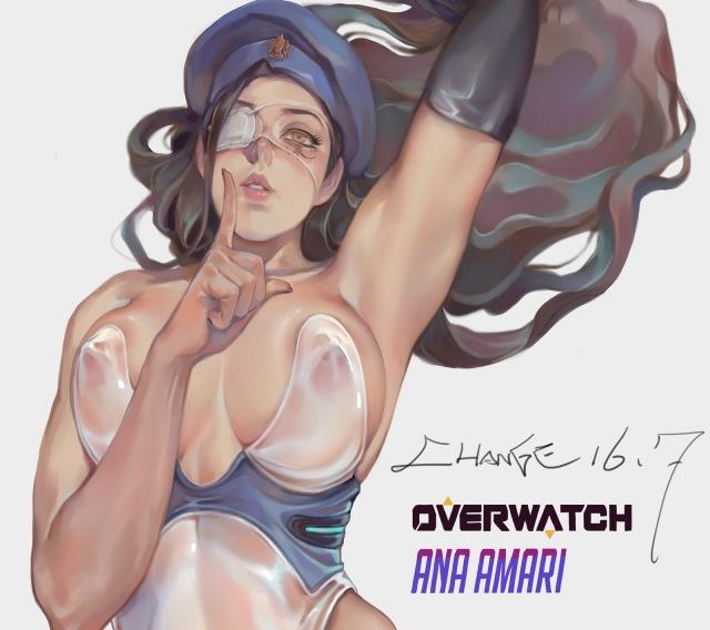 overwatch ecchi