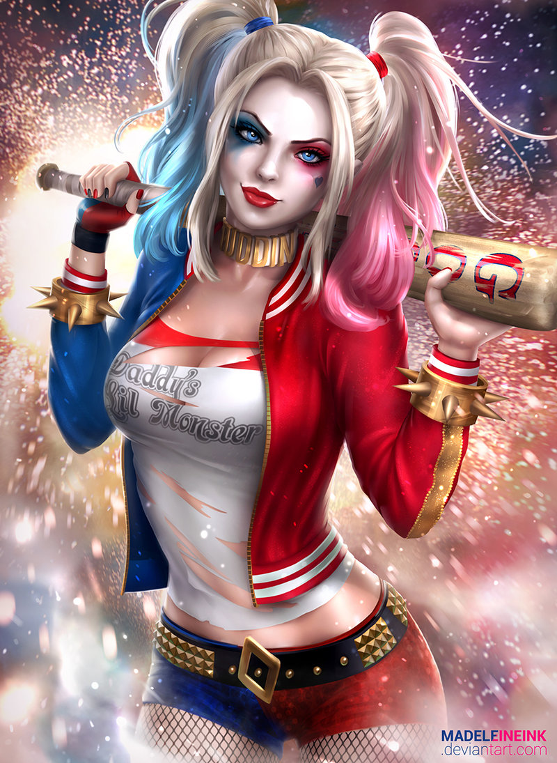 Pack Harley Quinn Suicide Squad Anime, Ecchi Girl, Hentai -5771